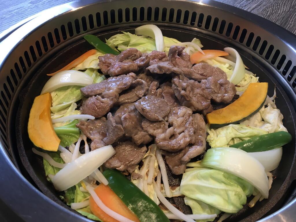 北海道郷土料理「ジンギスカン」