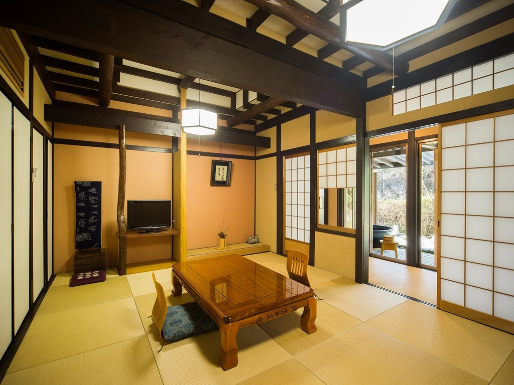露天風呂付き客室 和室10畳