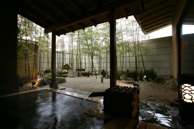 竹林の湯 露天