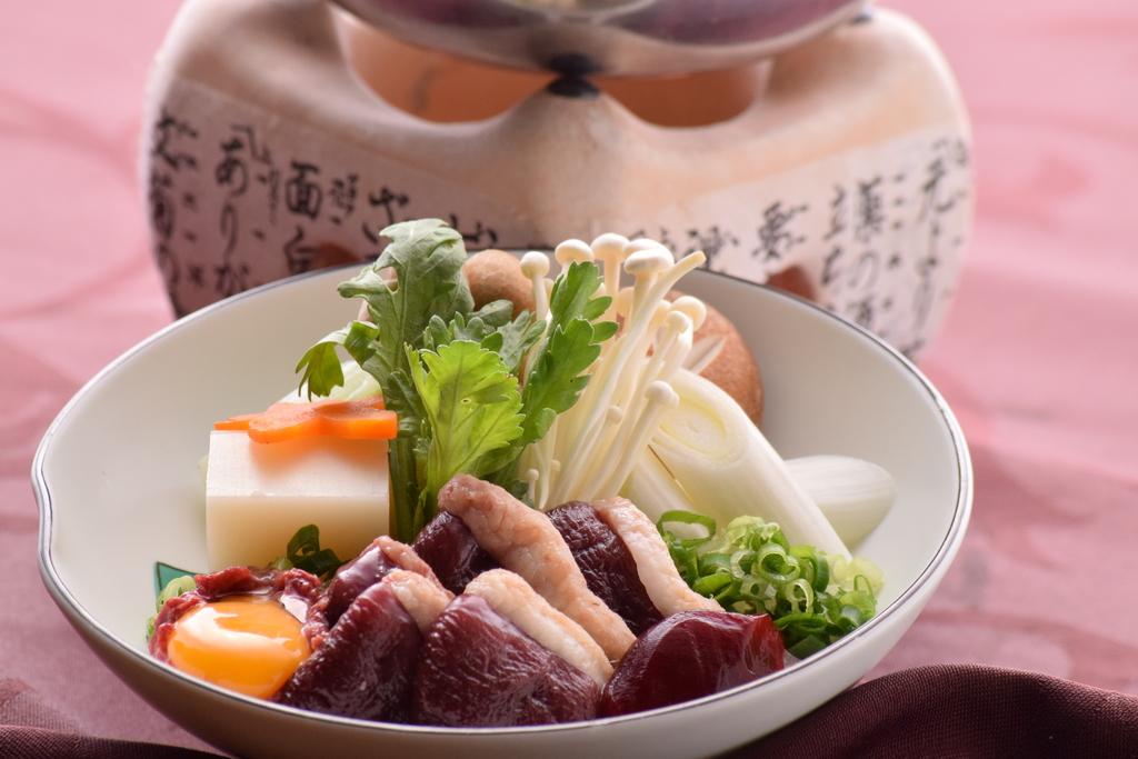 冬のグルメプラン 鴨鍋会席(イメージ)