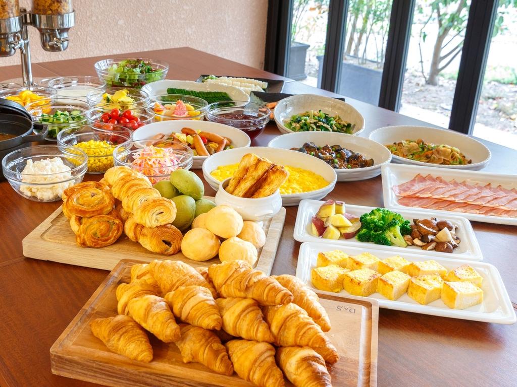 和・洋食のモーニングブッフェ ※イメージ