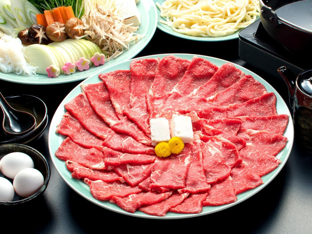 【さざんか】満腹!納得!すき焼き鍋