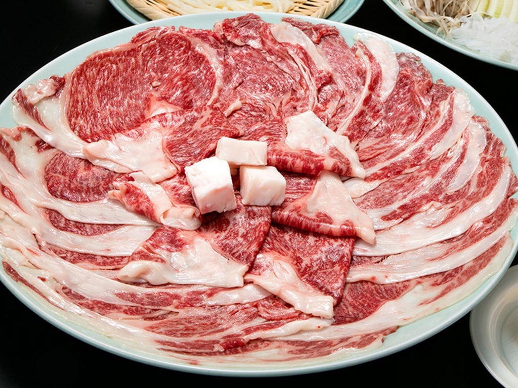 但馬牛のすき焼き鍋 ※写真はイメージです。