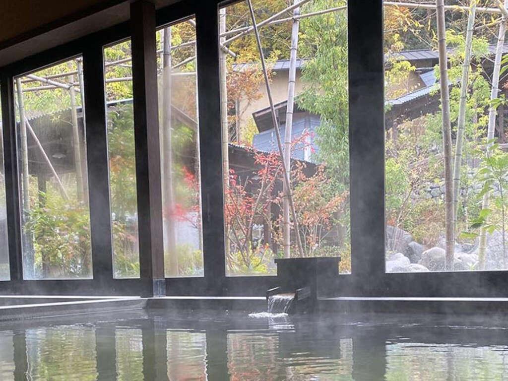 【延羽の湯 野天閑雅山荘】高濃度ナノ炭酸泉