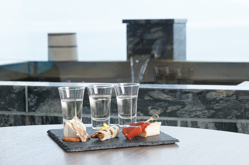 近江のおつまみと地酒のセット イメージ