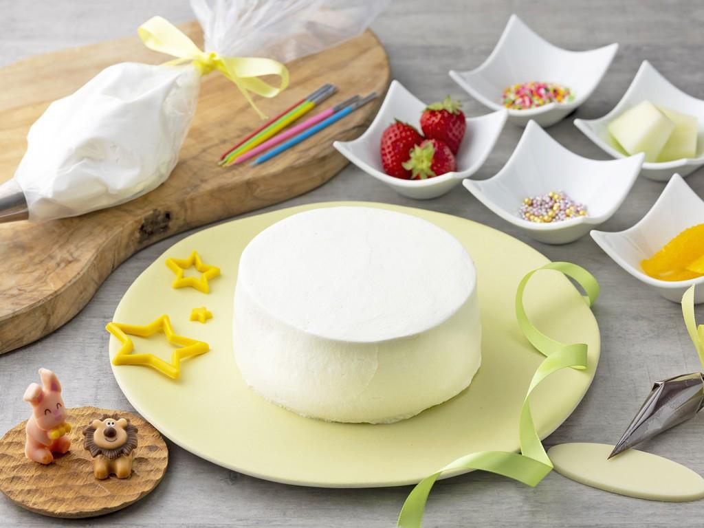 オリジナルケーキ作りイメージ
