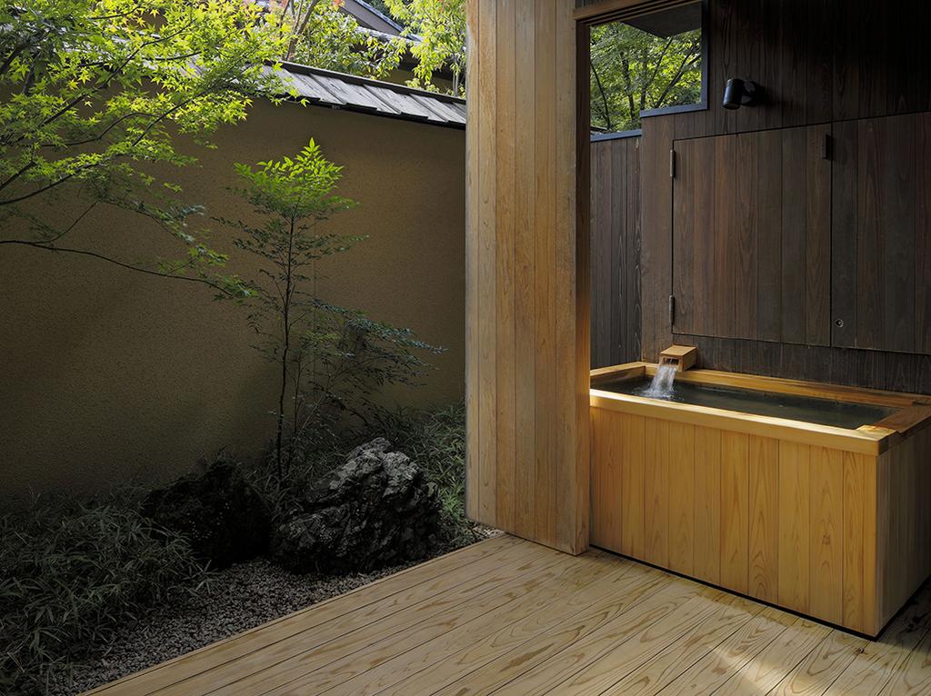 柚葉 客室温泉露天風呂イメージ