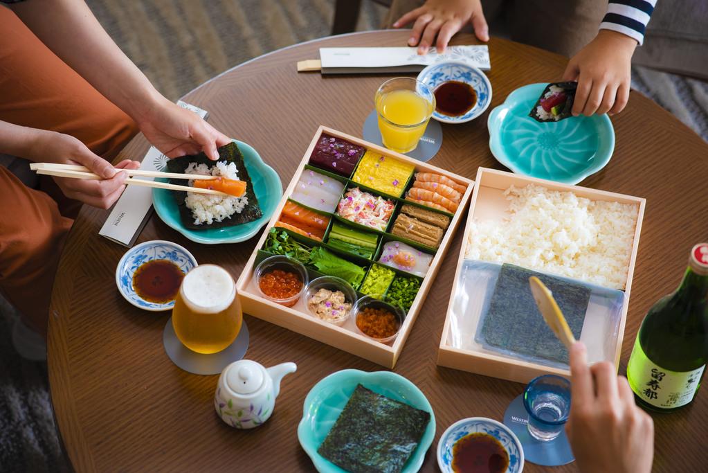 手巻き寿司1