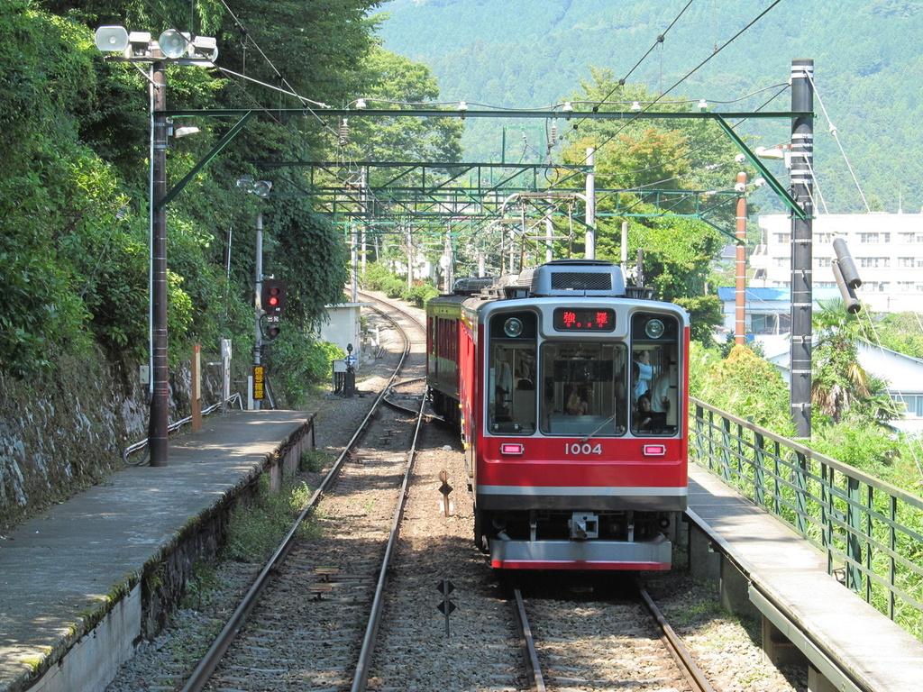箱根登山鉄道が7/23より再開となります