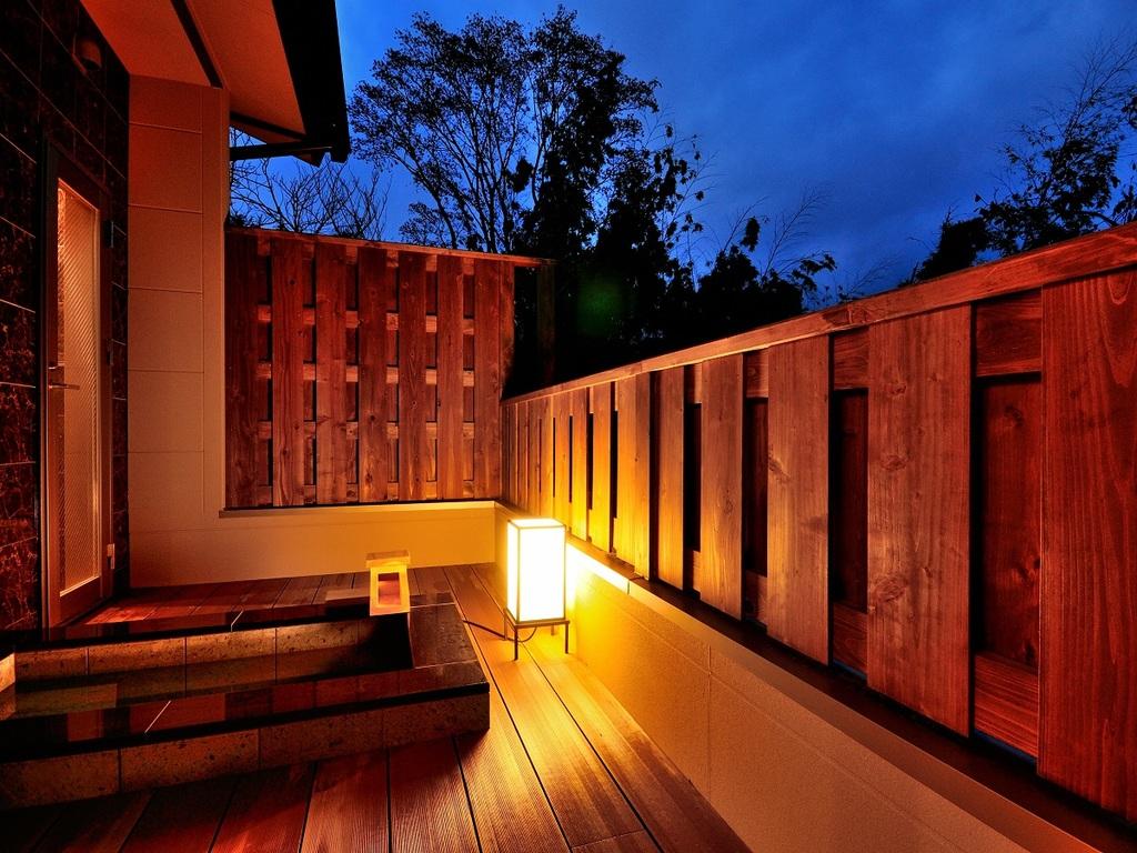 【全室露天風呂付き】徳川将軍家献上の由緒ある温泉を、24時間お好きな時にお楽しみいただけます。