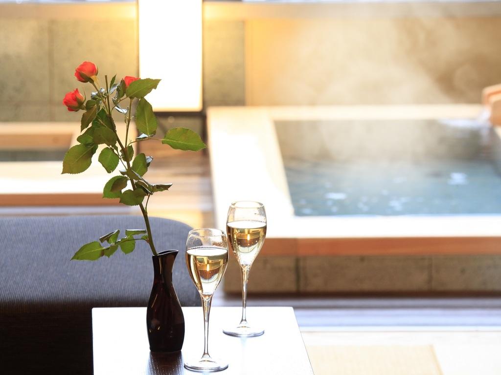 【全室露天風呂付き】24時間お好きな時にお楽しみいただけます。