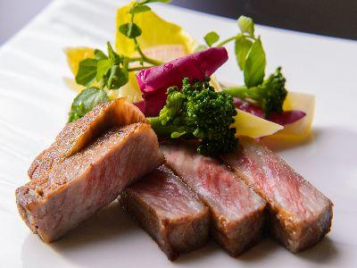 高級ブランド和牛 美熊野牛ステーキ 地野菜添え