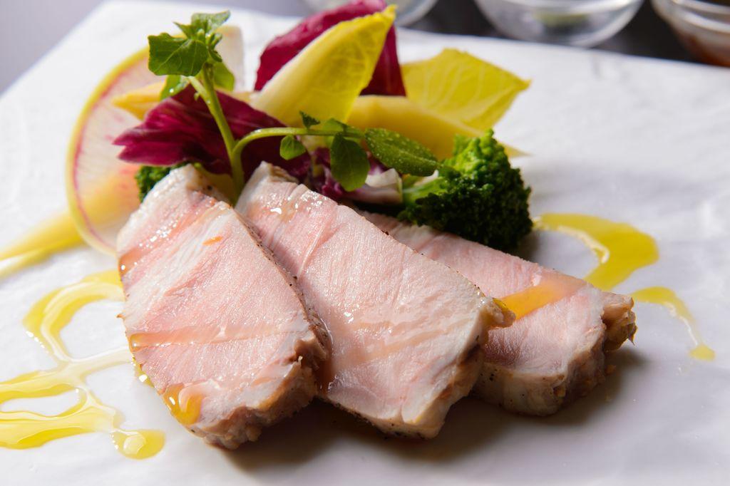熊野ブランド岩清水豚のステーキ