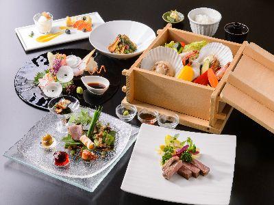 基本コース『美熊野牛と味覚三昧会席』