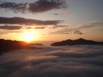 熊野の冬の風物詩『風伝おろし』
