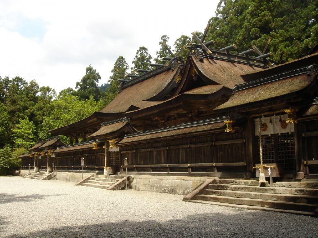 熊野三山の一つ『熊野本宮大社』