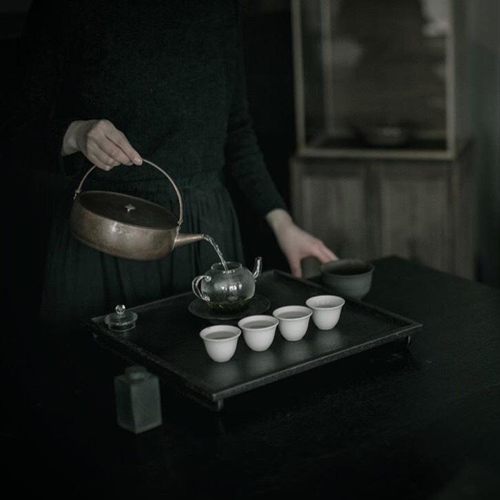 菓子屋「ここのつ」× 四季十楽 | 初夏の茶寮 ※参考写真