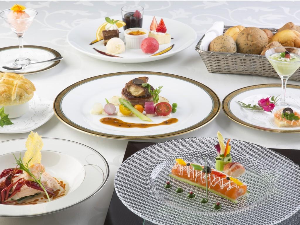 【レストラン ルミエール】キャビア・フォアグラ・トリュフの豪華フレンチコースディナー(イメージ)