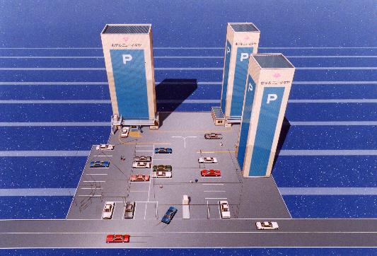専用駐車場(平地・立体 計154台分)