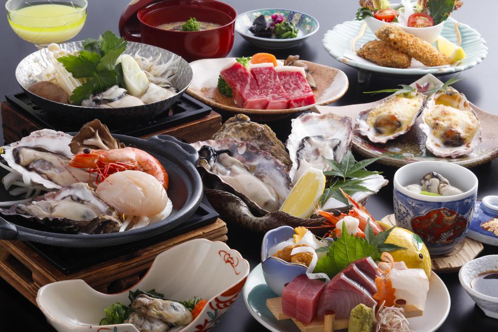 【冬季】 牡蠣尽くしプレミアム会席〜せとうち〜