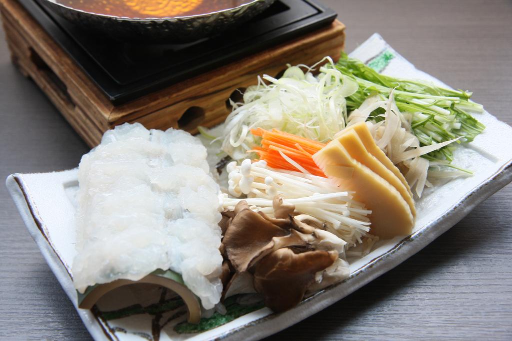 鱧の沢煮鍋