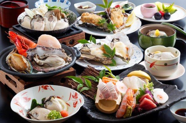 牡蠣会席せとうちお料理一例