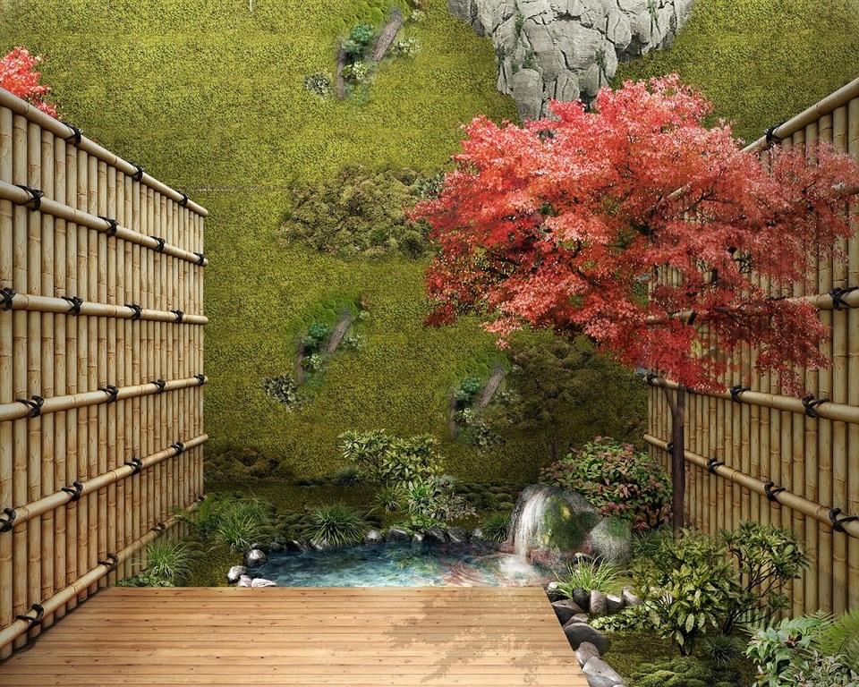 ガーデンツイン庭(眺望)