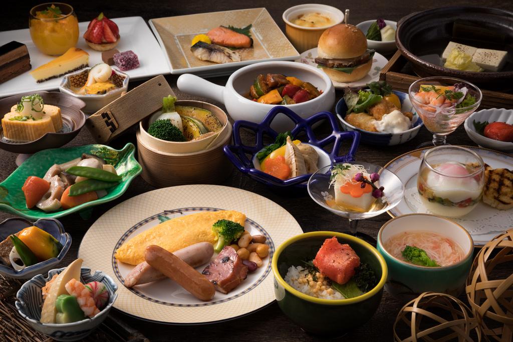 和食と洋食をお選び頂けます