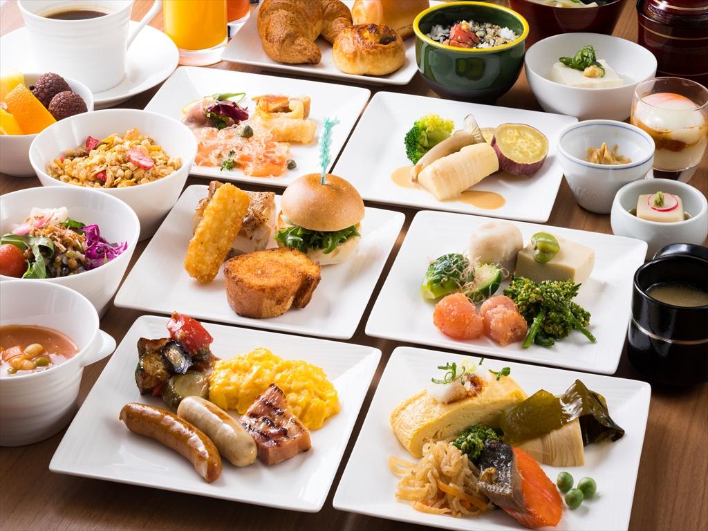 和・洋のおいしい朝食ブッフェ