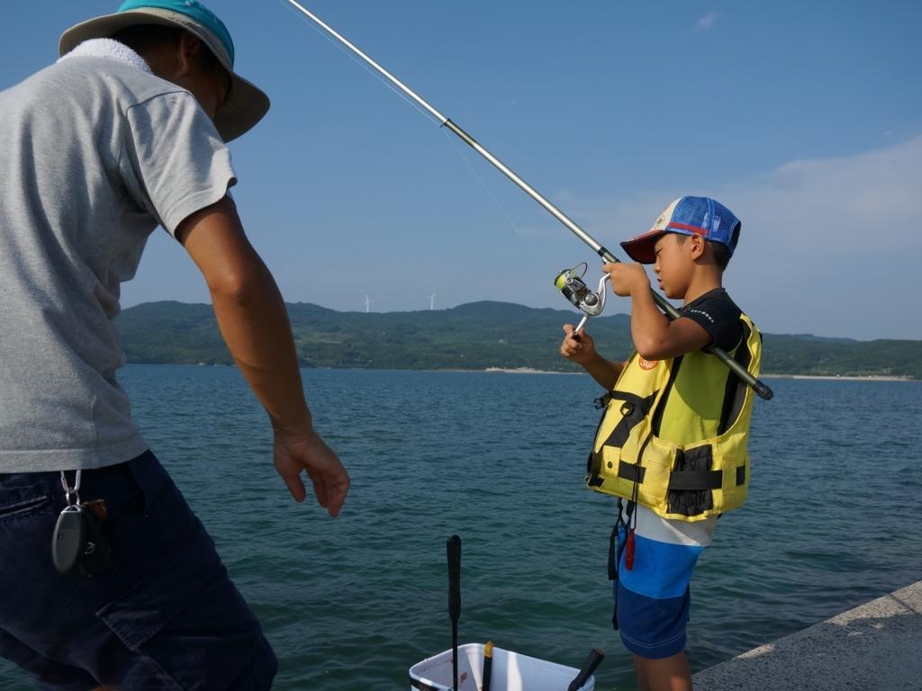 お子様2食付き無料プランでとってもお得♪今年の夏は家族みんなで釣りは如何か?