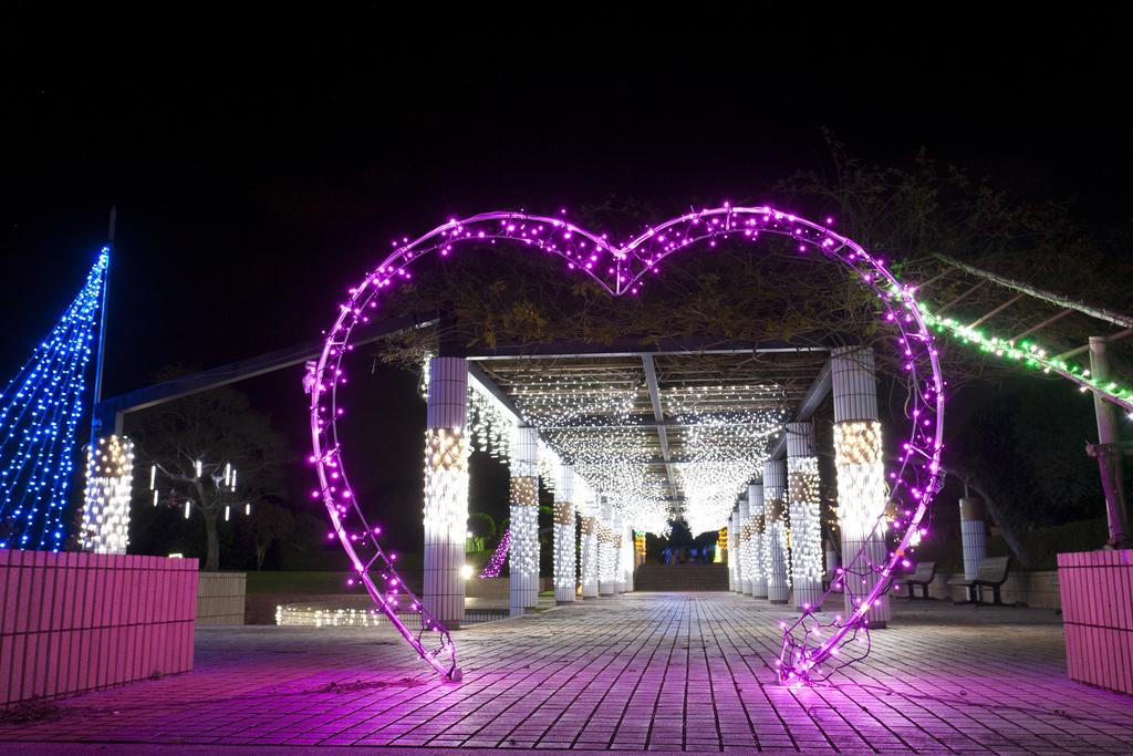 12月点灯予定の田平公園「光のフェスタ」