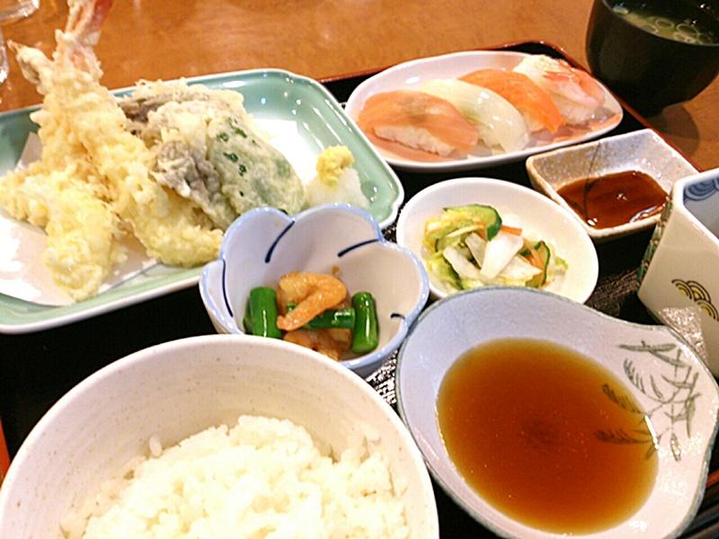 日替り夕食膳の一例☆天ぷら定食