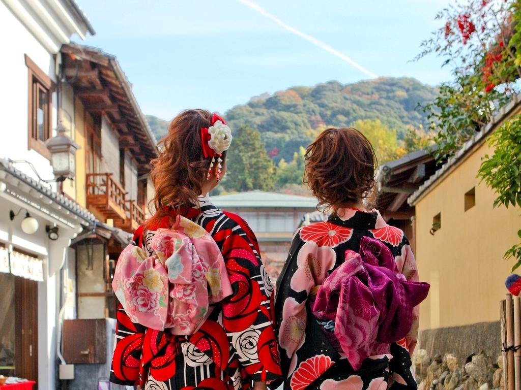 <着物プランで京都観光♪>