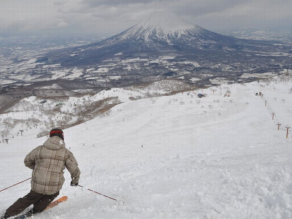 羊蹄山やニセコエリアの大パノラマを望みながら、爽快な滑りをお楽しみいただけます。