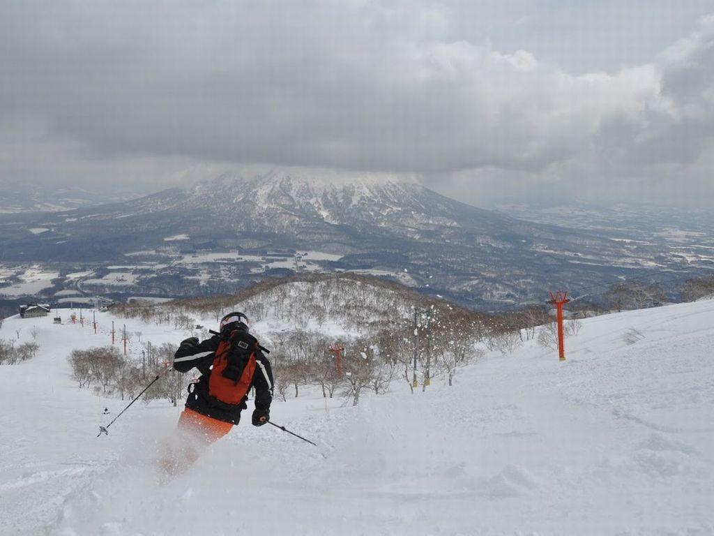 ニセコスキーの魅力は、極上のパウダースノーと雄大な風景!