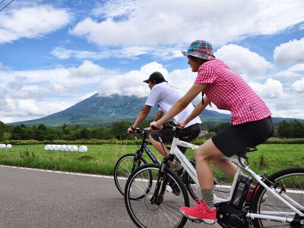 ニセコの爽やかな風を感じながら、自転車で駆け廻ろう!