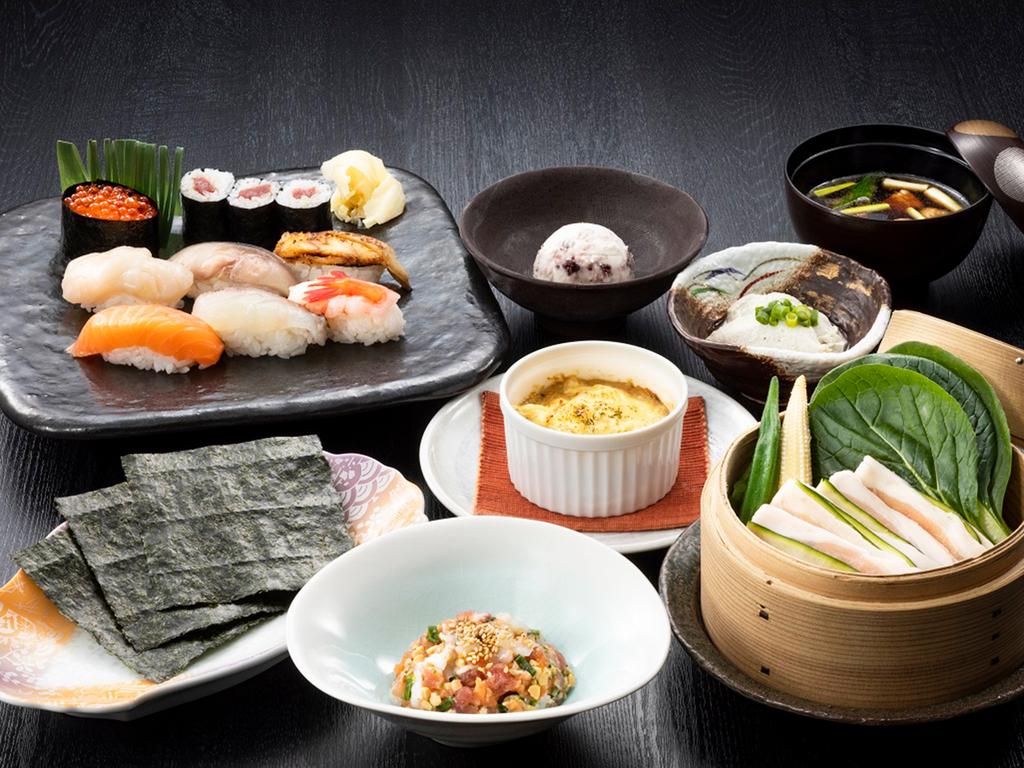 【食彩比羅夫】日本海と太平洋、両方の海から届く新鮮な魚介を使っています(写真は一例です)