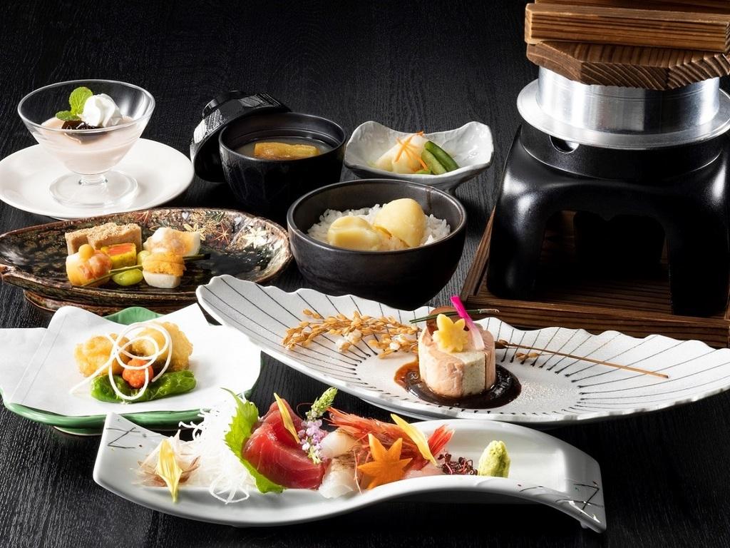 【特別和食膳】大地の収穫や近海であがる魚介などニセコならではの味覚をご堪能ください