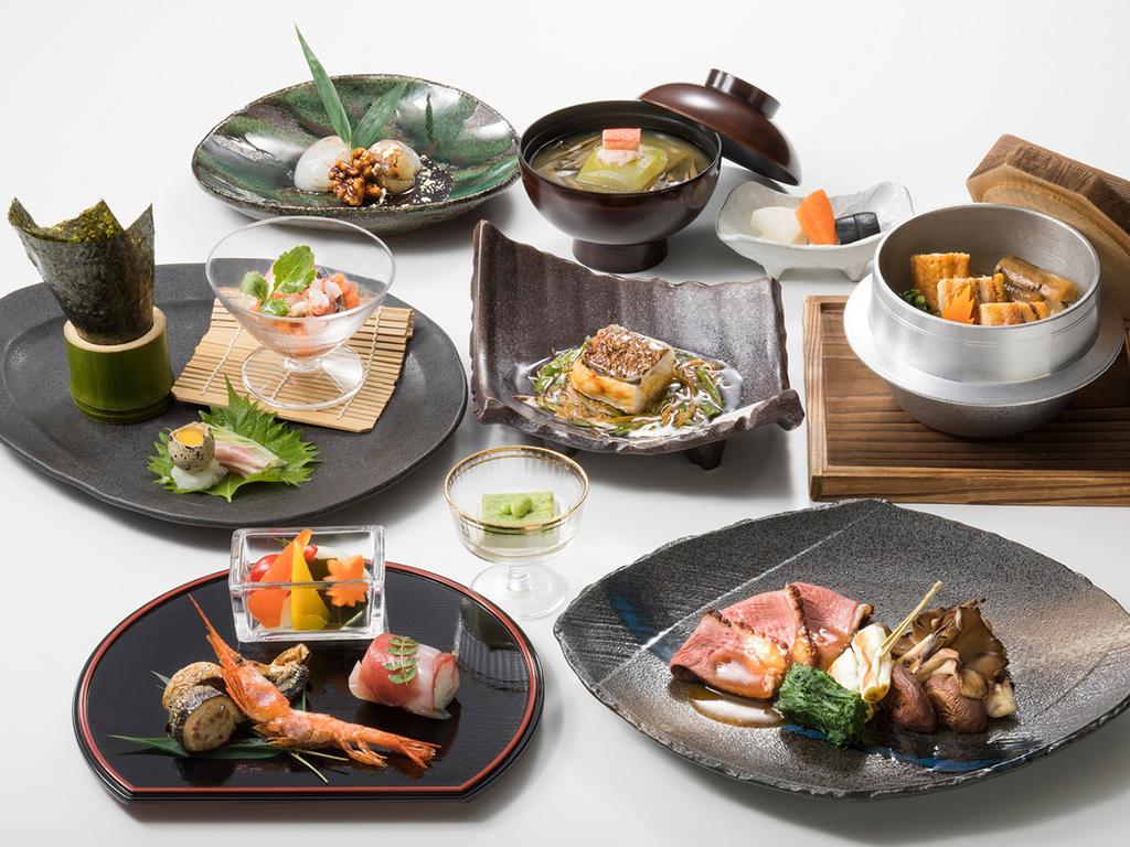 【和食コース】大地の収穫や近海であがる魚介などニセコならではの味覚をご堪能ください(イメージ)