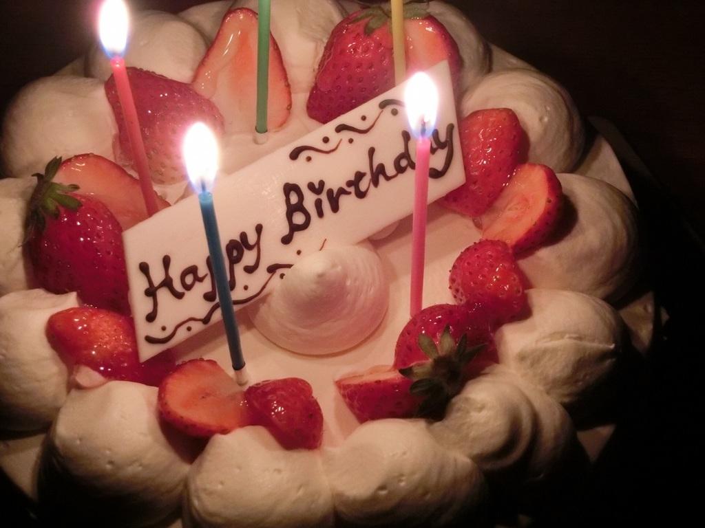 お誕生日、記念日を華やかにお祝いします