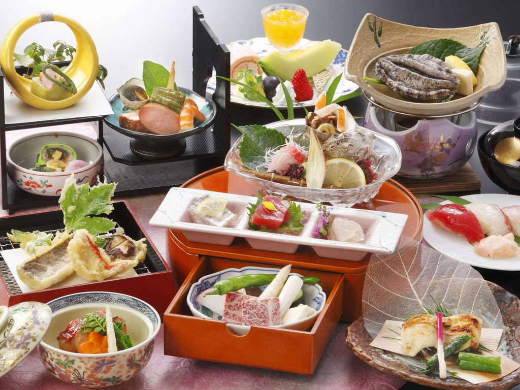 【旬彩プラン】ご夕食一例
