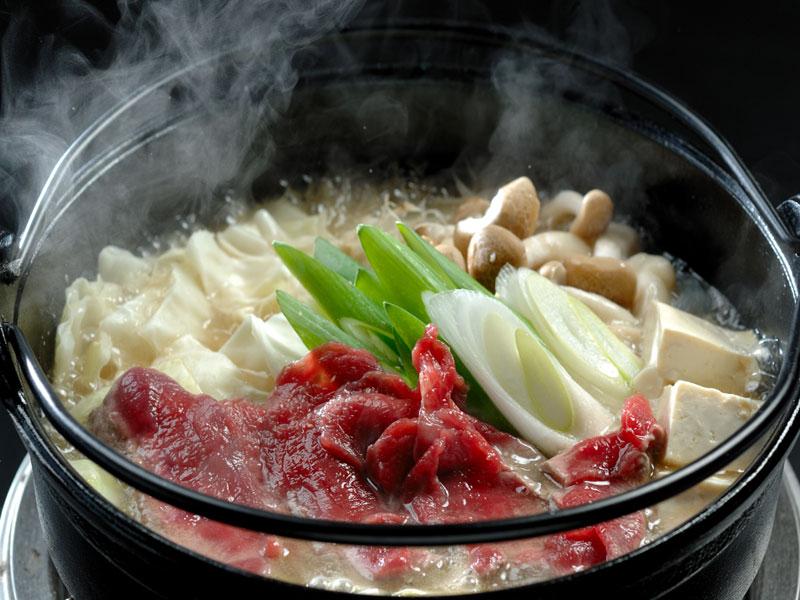 十和田産さくら鍋(馬肉鍋)プラン♪