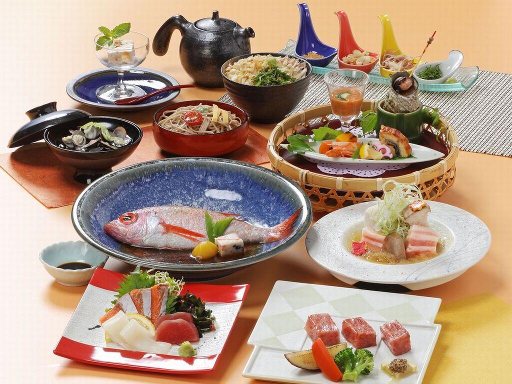 山陰づくし 日本海の海の幸−特別会席料理