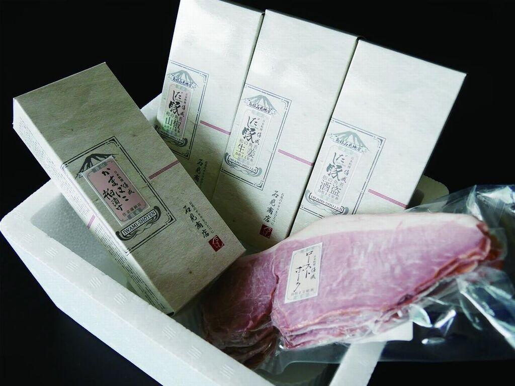 和のだし×島根の銘柄豚と無添加かまぼこセット ※写真はイメージです。
