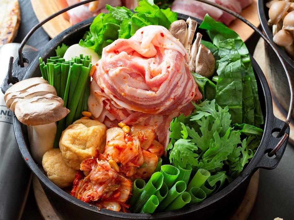 2019年冬 BBQ&豚チゲ ※イメージ