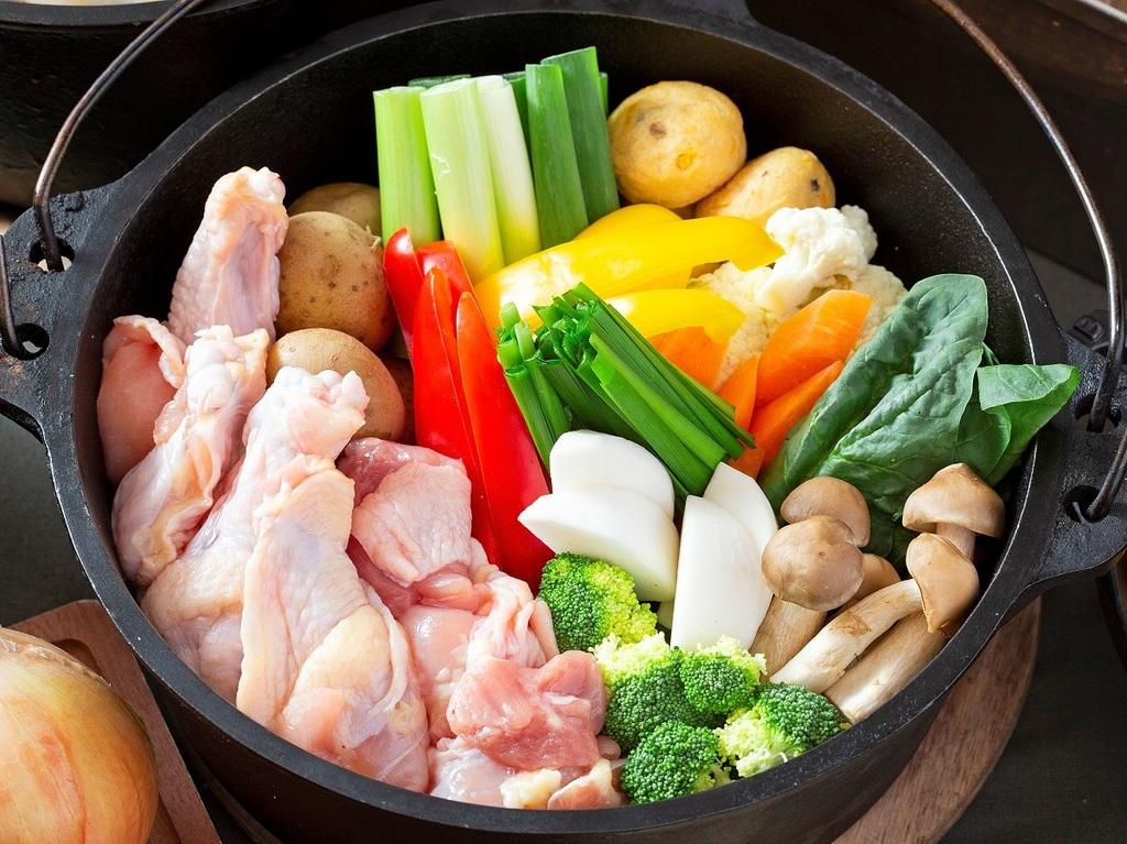 2019年冬 BBQ&鶏白湯鍋 ※イメージ