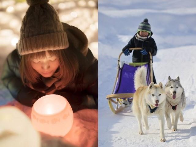 雪降る季節は定山渓温泉へ〜「雪三舞」や「雪灯路」でこの冬の想い出作りを。