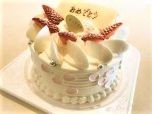 まごころ込めてパティシエが特製ケーキをお作りいたします(画像はイメージです)。