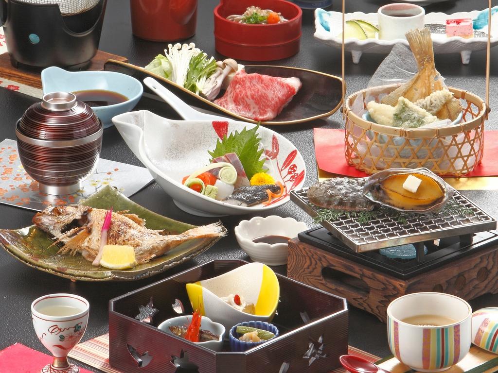 八雲会席(4月〜10月の食事一例)