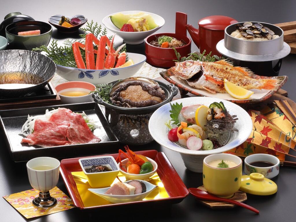 八雲会席(11月〜3月の食事一例)